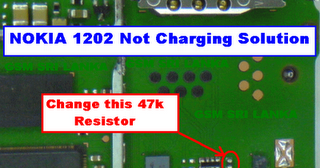 nokia new 1202 1203 charging not charging solution tips all gsm