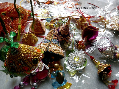 Colorful lumbas for womenfolk - Raksha Bandhan