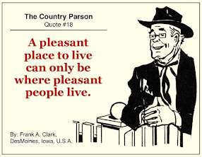 Today's Vintage Quote<br> From The Country Parson