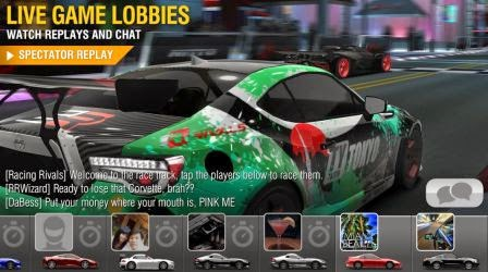 Racing Rival 3D, games Android online dan off line multiplayer