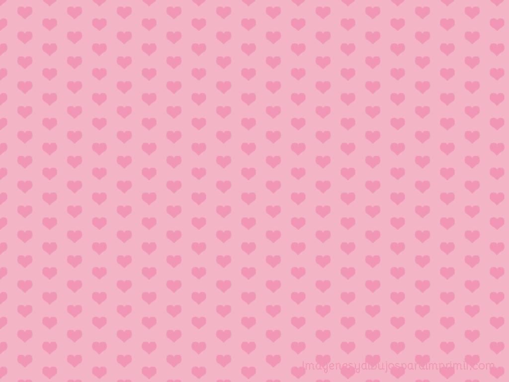 corazones rosa para imprimir