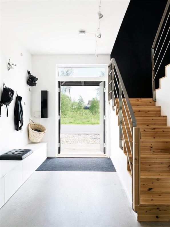 casa nordica de diseño actual