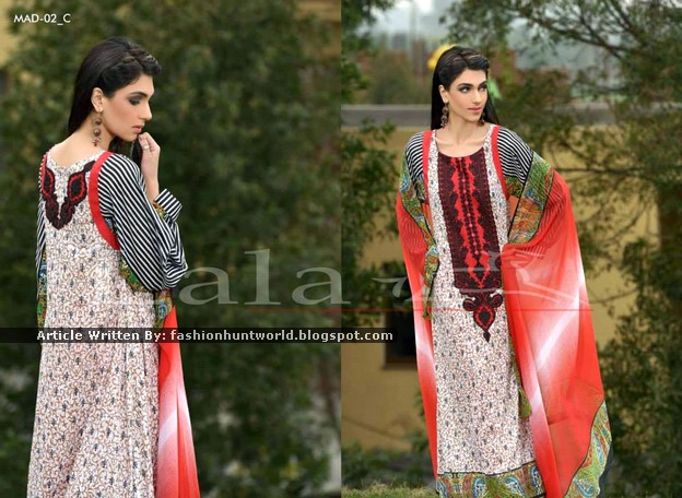 Lala Presents - Pakistani Cheap Lawn Dresses
