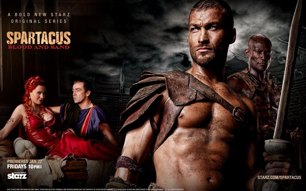 spartacus key Spartacus 1ª a 3ª Temporada  Dublado e Legendado