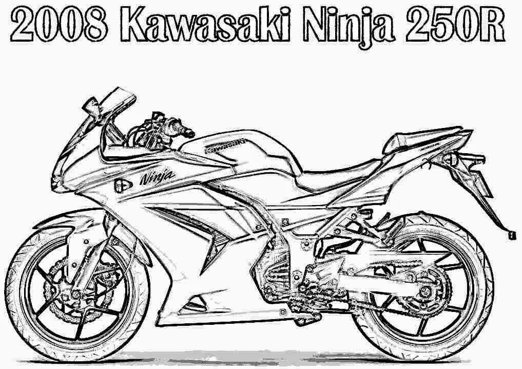yamaha coloring pages - photo#23