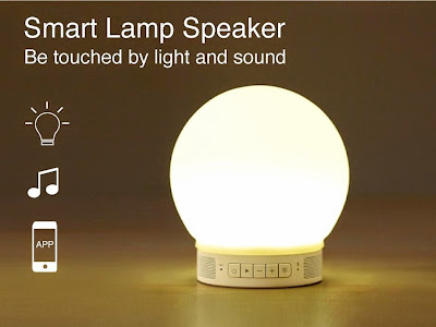 Coolest Bedside Gadgets for You - Smart Lamp Speaker