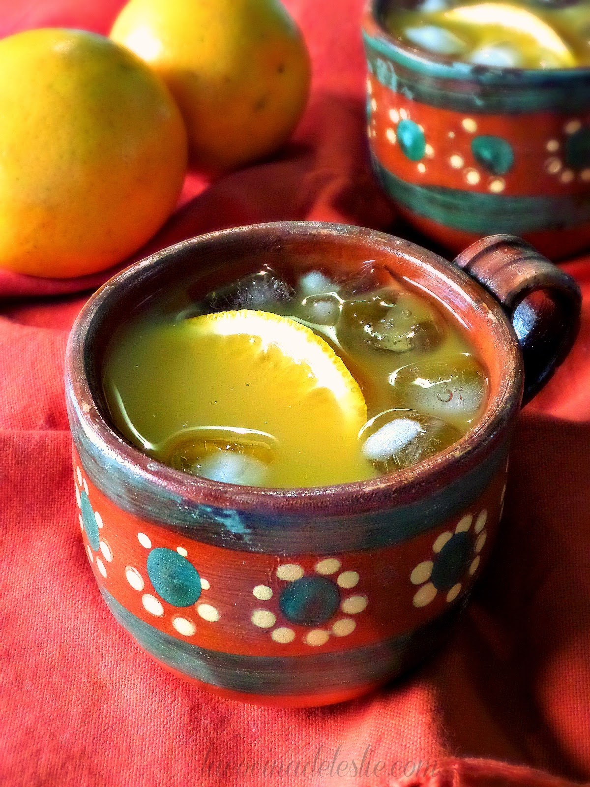Orange Agua Fresca - lacocinadeleslie.com