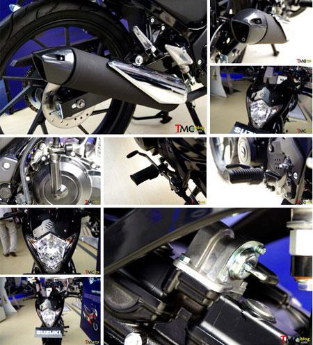 detail gambar Suzuki Satria FU150S Black