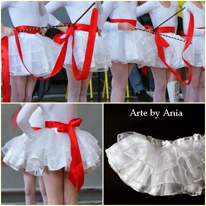 jak uszyć spódnicę dla baletnicy