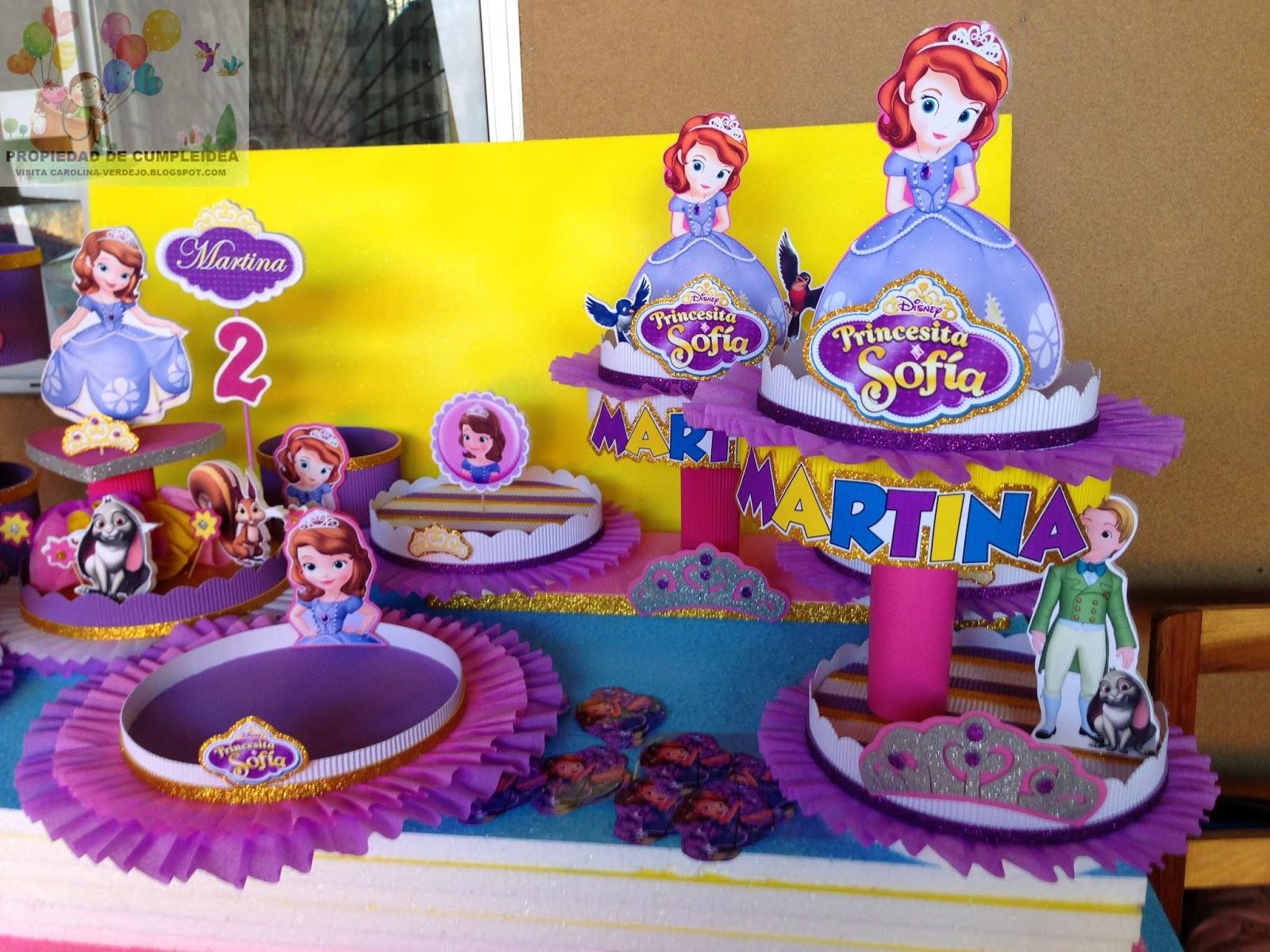 Decoraciones infantiles princesita sofia - Fiestas de cumpleanos de princesas ...