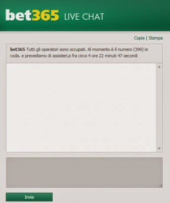 Bet 365 Live Chat