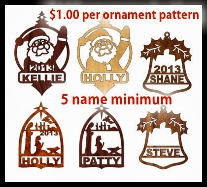2013 Custom Ornaments. Order Today.