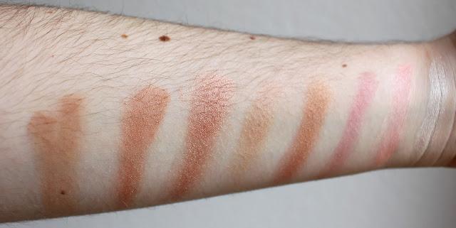 swatch golden sugar makeup revolution