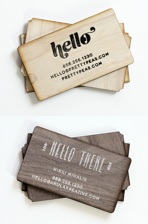 Research on laser engrave a creative name card on wood plywood figure 1 diy hand stamped wooden business card design wooden business cards look and feel great and they impart a sense of luxury even though they are reheart Image collections