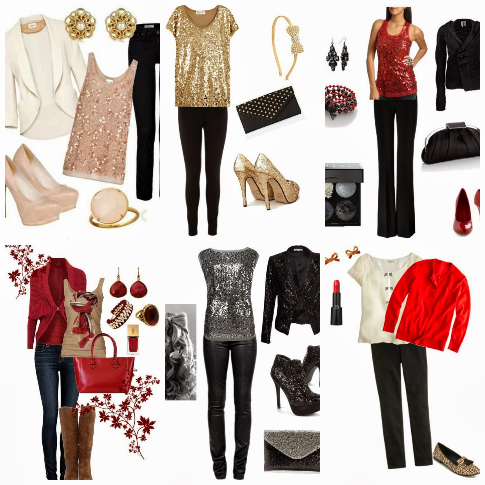 Family Christmas Party Casual Outfit Dress Images
