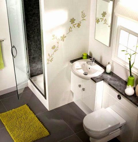 Ba os modernos en espacios peque os arquitexs for Diseno banos pequenos espacios