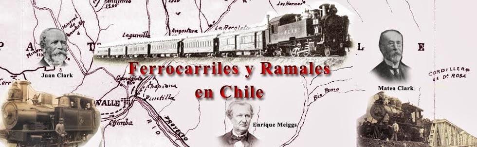 Ferrocarriles y ramales en Chile