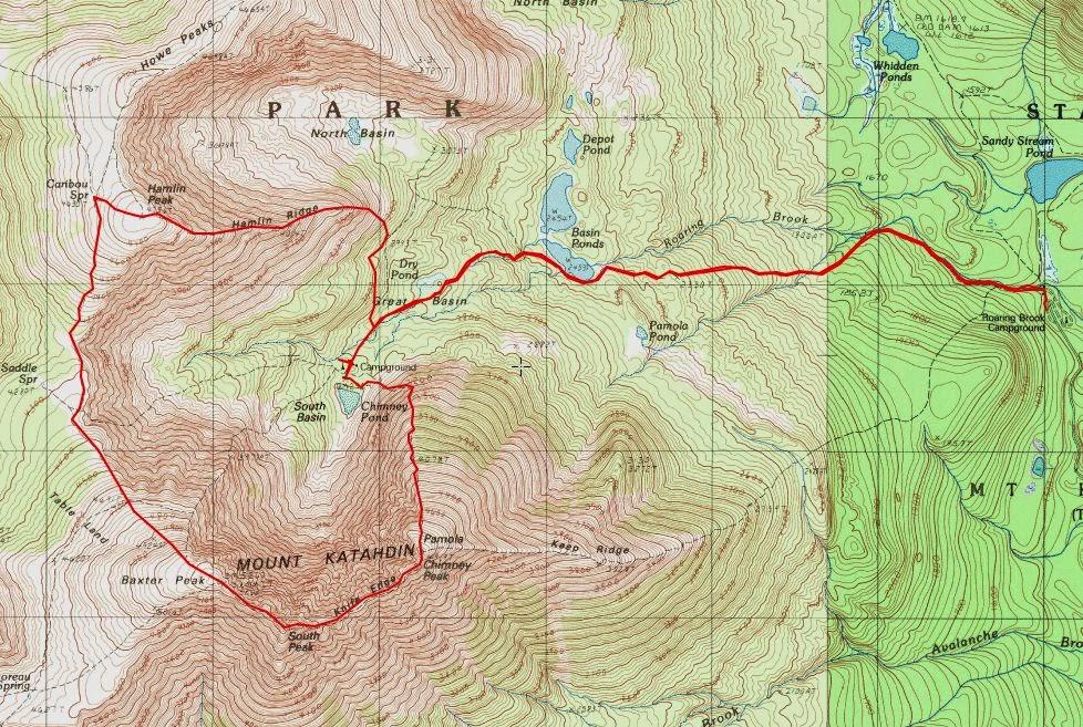 Off on Adventure: Mount Katahdin! - Baxter State Park - 9/15/13