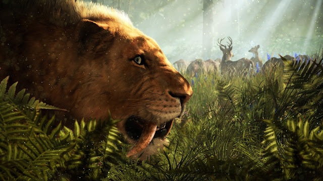 far cry primal sabertooth tiger cat stone age