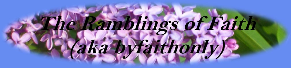 The Ramblings of Faith