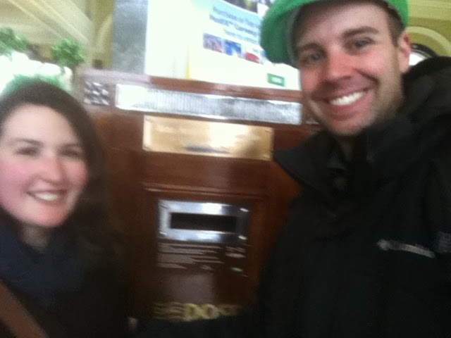 Wooden Post Box—General Post Office
