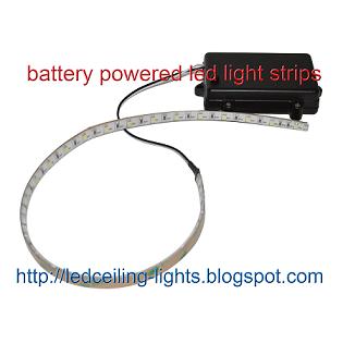 battery powered led light strips