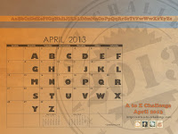 A to Z blogging in April Challenge
