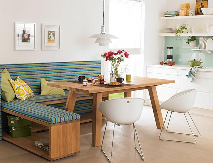 sofa, mesa, jantar, sala, cozinha, lanchonete, americana, retro, cadeira, decoração, ideia