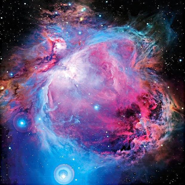 Gorgeous image of the Orion Nebula taken by the CFHT