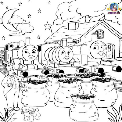 Kids sheets to print out railway portraits Thomas the tank engine backdrop sketches for colouring