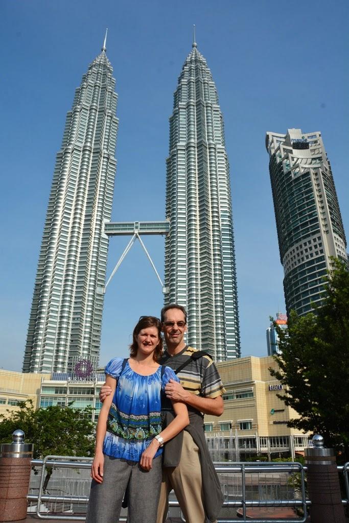 KLCC Park Kuala Lumpur Petronas Towers