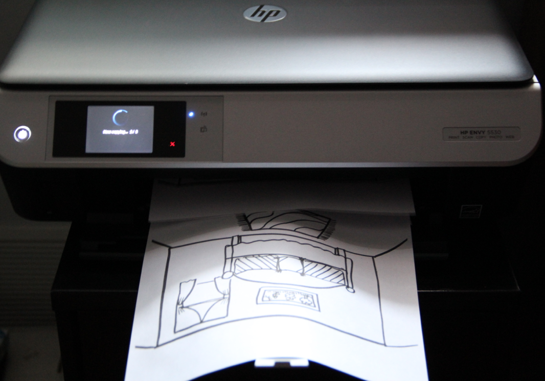hp envy 5530 e all in one printer manual