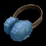 Paraorecchie blu