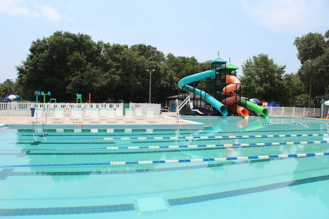 public swimming pool in Pensacola~ Roger Scott Swimming Pool