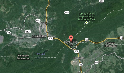 UFO seen in Cumberland Gap