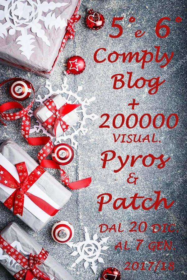 """Festeggiamenti al blog """"Pyros&Patch""""! Io partecipo"""
