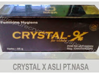 Crystal X Asli Dari PT Nasa Yogyakarta