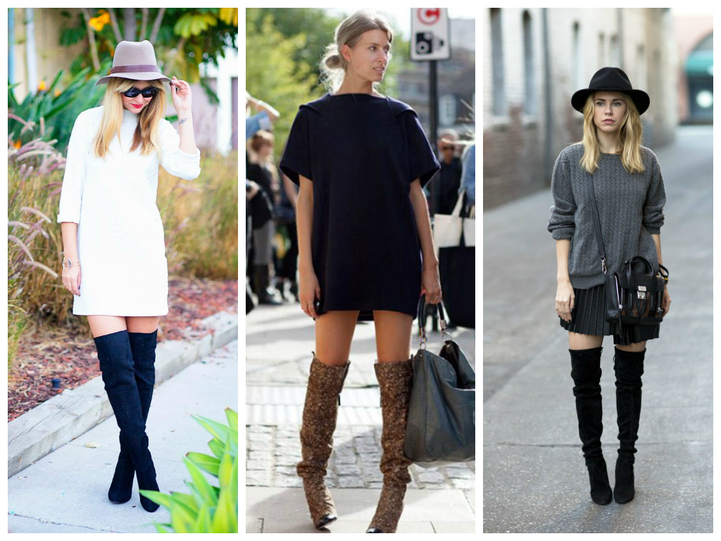 How to wear thigh high boots... | Live Up Fashion