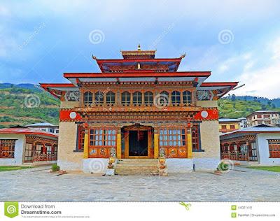 Buddha Mondir in Bhutan