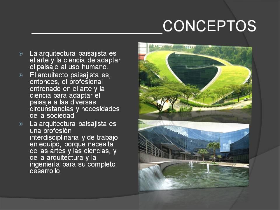 La evolucion arquitectonica arquitectura paisajista for La paisajista