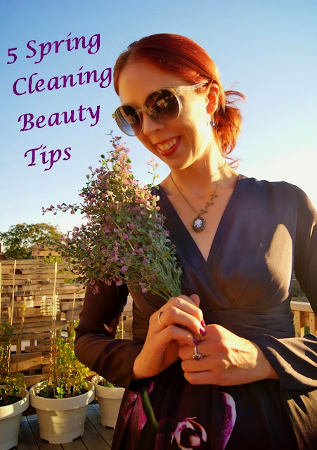 5 Get Ready For Spring Beauty Tips, Cleaning, The Purple Scarf, Melanie.Ps, Toronto, Ontario, Canada, Skincare, Shower, nailcare