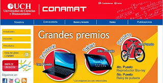 RESULTADOS EXAMEN CONAMAT 2013 (9 de Noviembre)