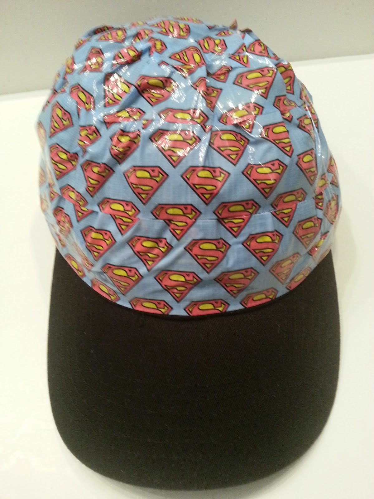 Scotch Duct Tape Superman Hat