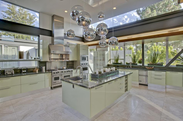 Photo of huge kitchen in the house