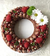 Kiksebunde med chokolademousse