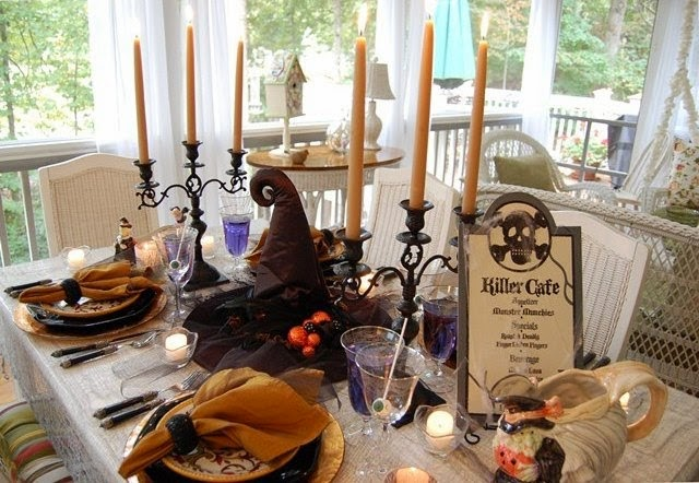 Witch Halloween Party Tablescape