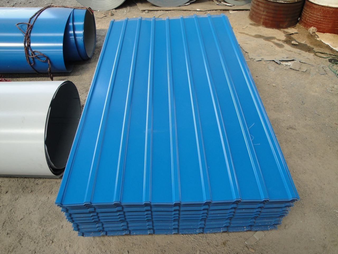 Colour roof sheets - Colour Coated Roofing Sheet