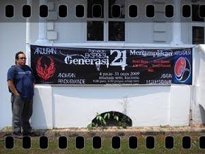 Pameran A.P.i di Muzium Seni Sarawak