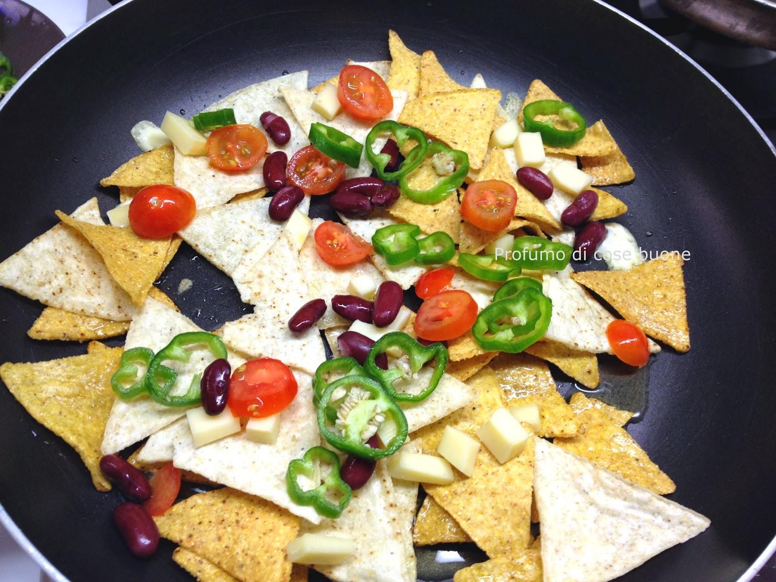 Profumo di cose buone nachos con fagioli rossi e for Ricette messicane