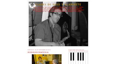 Clases de Saxofón y Clarinete en directoriopax, agrega tu web o blog